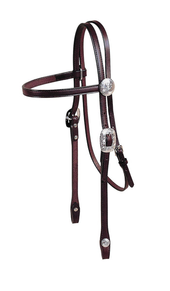 Tory Leather Durango Brow Band Headstall