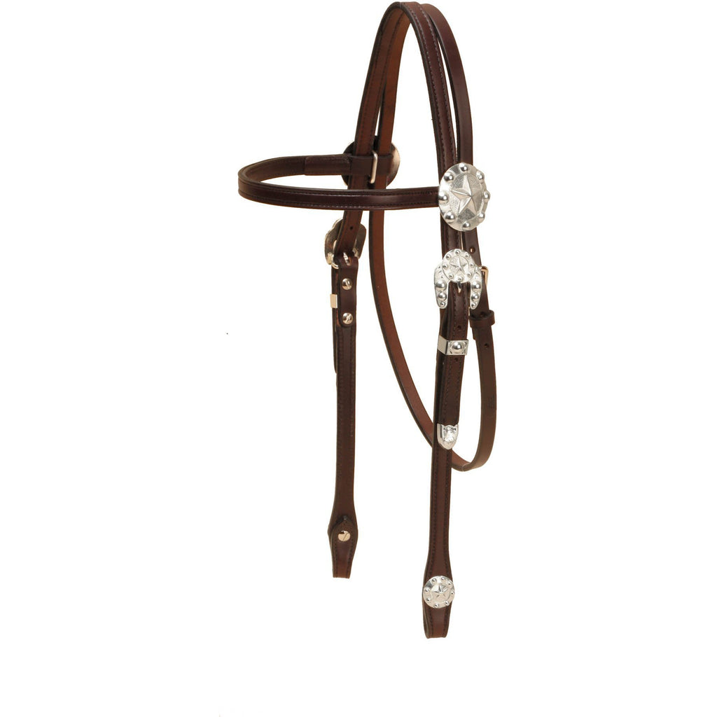 Tory Leather Century Browband Headstall