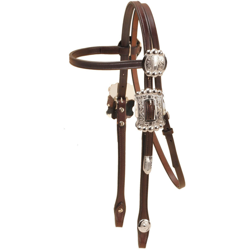 Tory Leather Harrington Browband Headstall