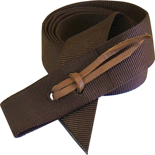 "Schutz Brothers Brown Nylon 1-3/4"" x 6' Tie Strap - West 20 Saddle Co."