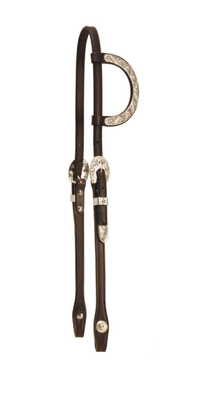Tory Leather Pecos Bill Sliding Ear Headstall