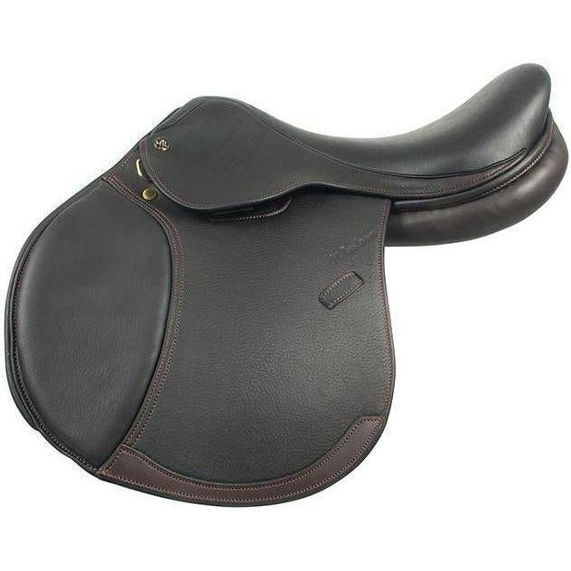 M. Toulouse Chocolate Annice Close Contact Saddle With Wide Tree - West 20 Saddle Co.