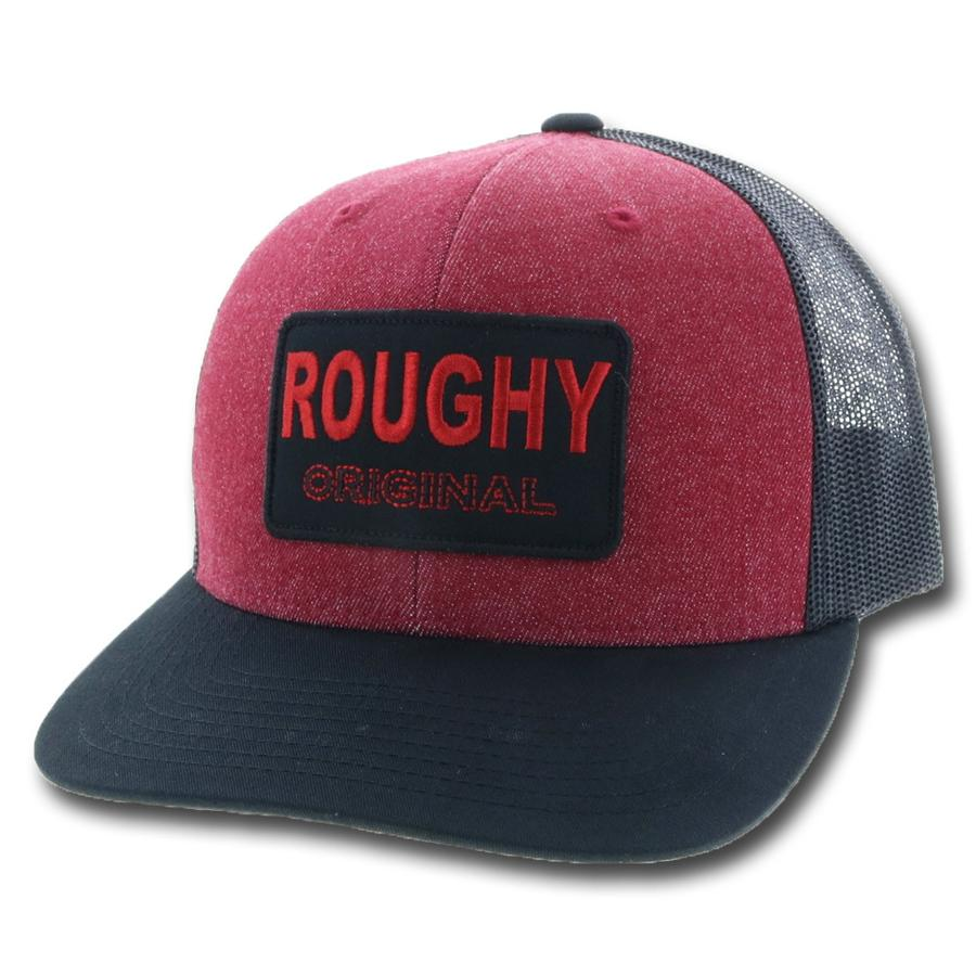 Roughy Original Maroon/Black Snapback