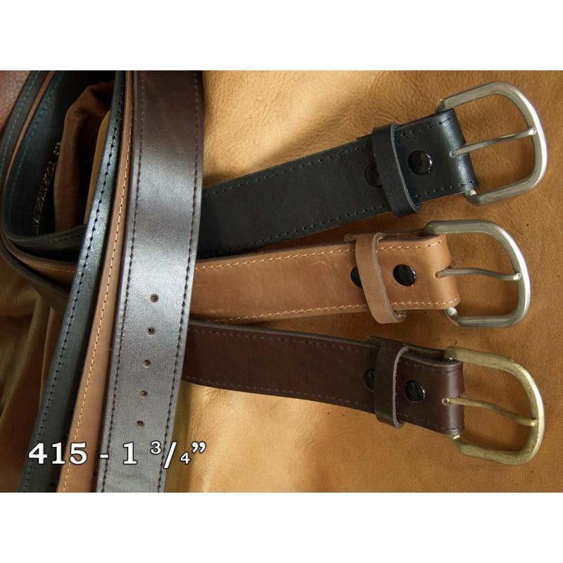 "West 20 Saddle Co. 1 3/4"" Fine Leather Belt - West 20 Saddle Co."