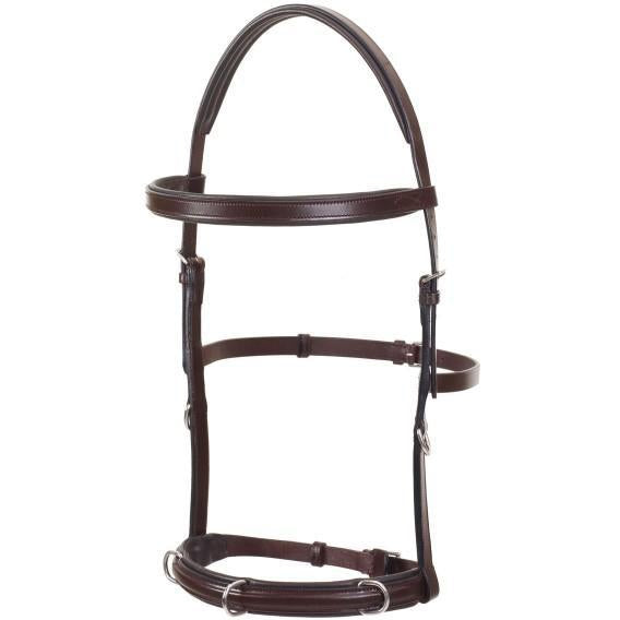 Camelot Padded Lunging Bridle - West 20 Saddle Co.