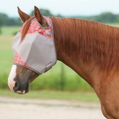 Cashel Crusader Patterned Fly Mask - Standard - West 20 Saddle Co.