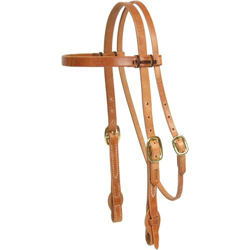 "Schutz Brothers  3/4"" Quick Change Browband Headstall - West 20 Saddle Co."