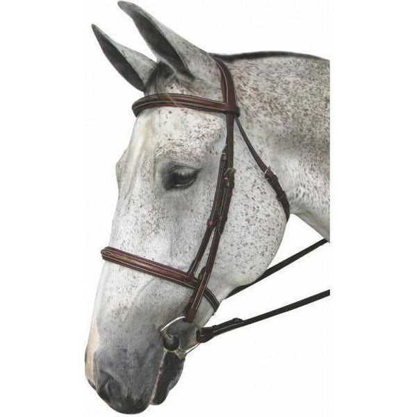 Henri de Rivel Pro Mono Crown Fancy Padded Bridle - West 20 Saddle Co.