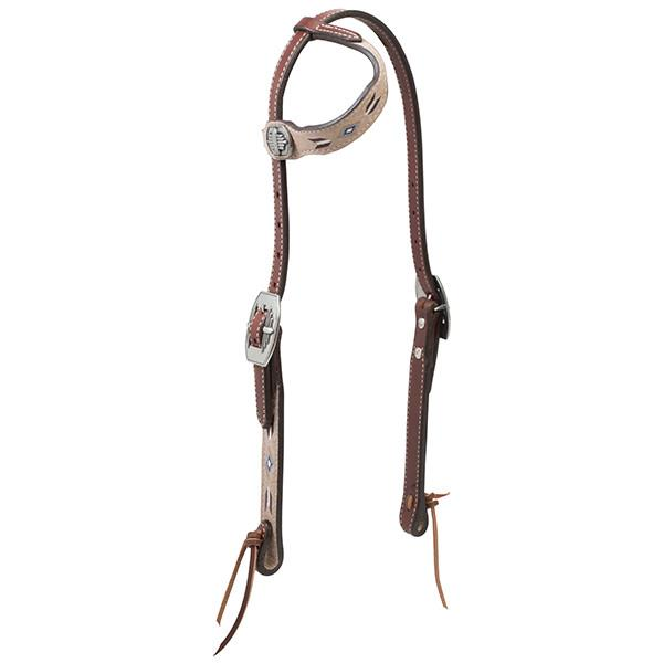 Weaver Leather Winter Star Sliding Ear Headstall - West 20 Saddle Co.