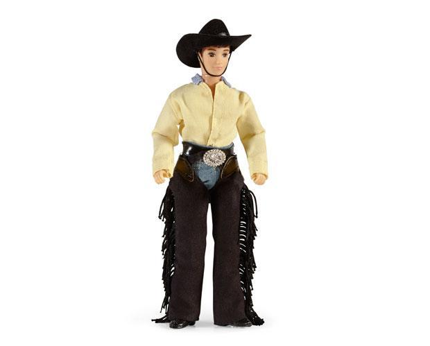 "Breyer Austin - Cowboy 8"" Figure - West 20 Saddle Co."