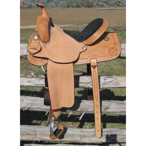 RW Bowman Working Class Barrel Saddle