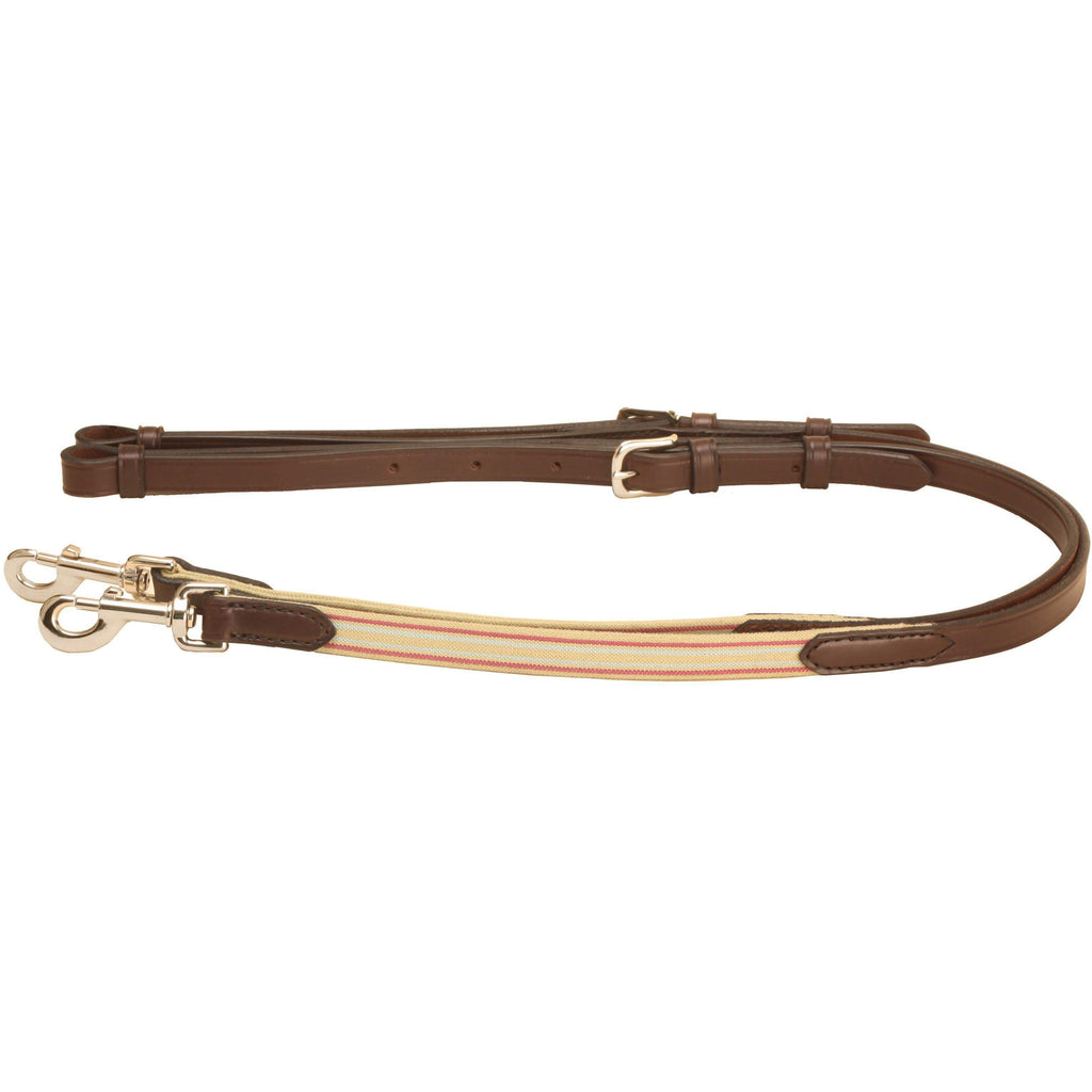 Tory Leather Elastic Side Reins - West 20 Saddle Co.