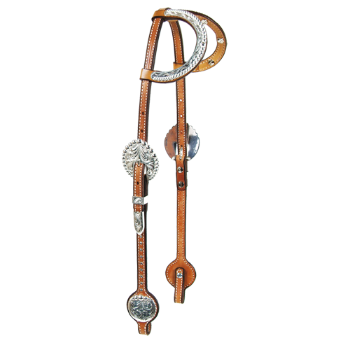 Schutz Brothers  Bubble Flame Headstall - West 20 Saddle Co.