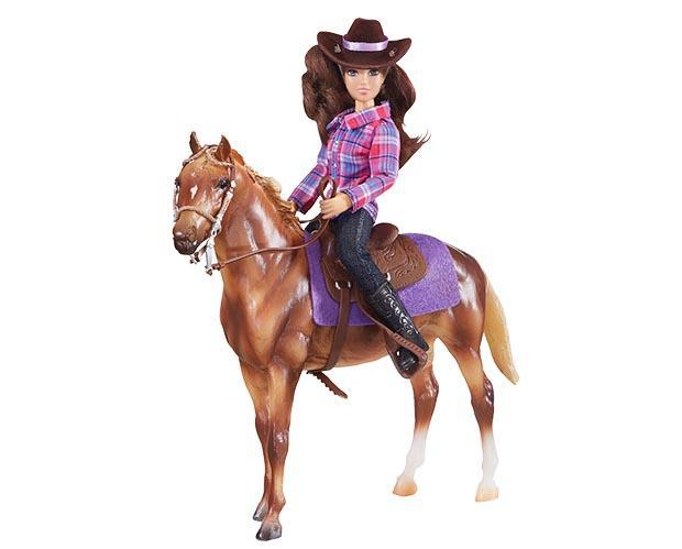 Breyer Western Horse and Rider - West 20 Saddle Co.