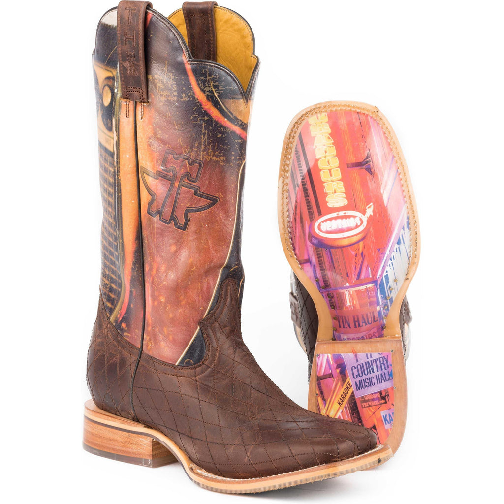 Tin Haul Holler and Swaller Men's Boot - West 20 Saddle Co.