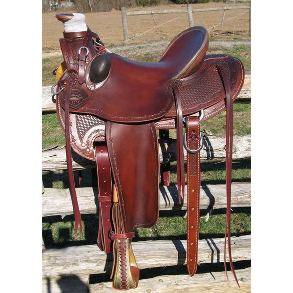RW Bowman Working Class A-Fork Saddle - West 20 Saddle Co.