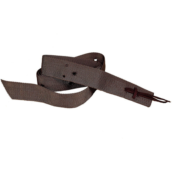 Tory Leather Brown Nylon Tie Straps