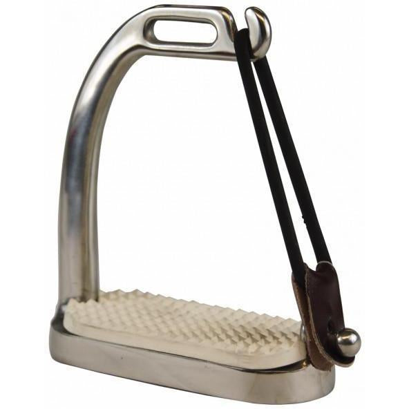Henri de Rivel SS Peacock Stirrups - West 20 Saddle Co.