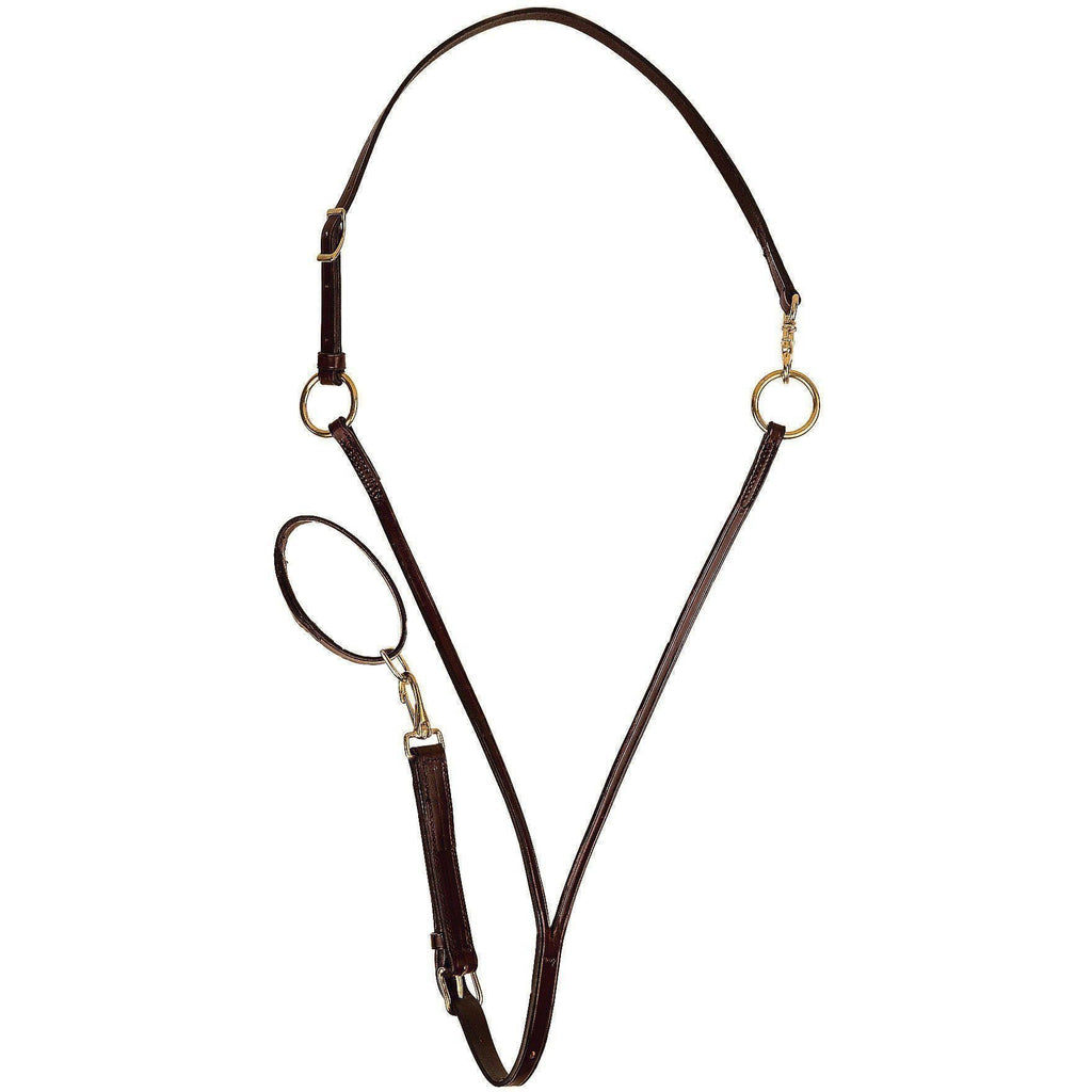Tory Leather Adjustable Training Martingale