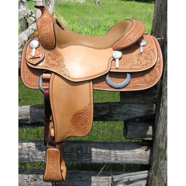 RW Bowman First Class Reiner - West 20 Saddle Co.