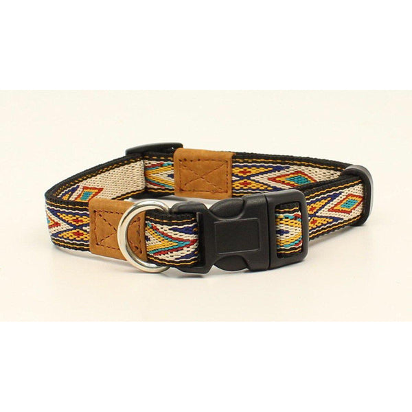 M&F Western Products Ivory Southwest Dog Collar - West 20 Saddle Co.