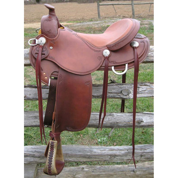 RW Bowman B–Light Trail Saddle