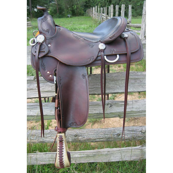 RW Bowman B–Light Trail Saddle II - West 20 Saddle Co.