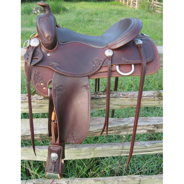 RW Bowman B-Light Pleasure Saddle - West 20 Saddle Co.