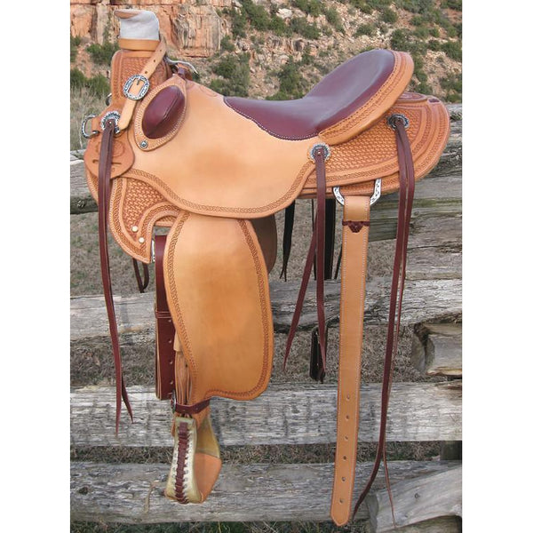 RW Bowman B-Light Ranch Saddle - West 20 Saddle Co.