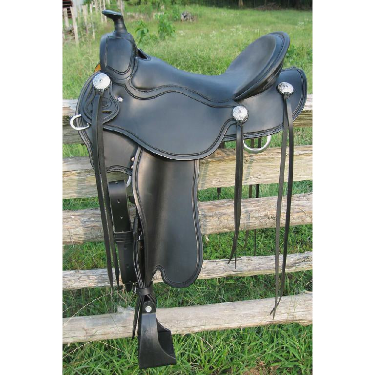 RW Bowman Ole No. 3 Trail Saddle - West 20 Saddle Co.