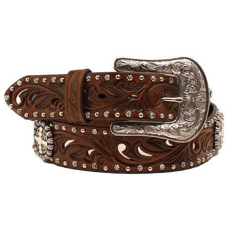Ariat Women's Embossed Concho Belt