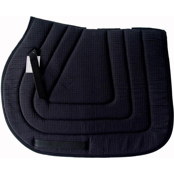 Pacific Rim International Cotton Waffle All-Purpose Pad With Piping - West 20 Saddle Co.