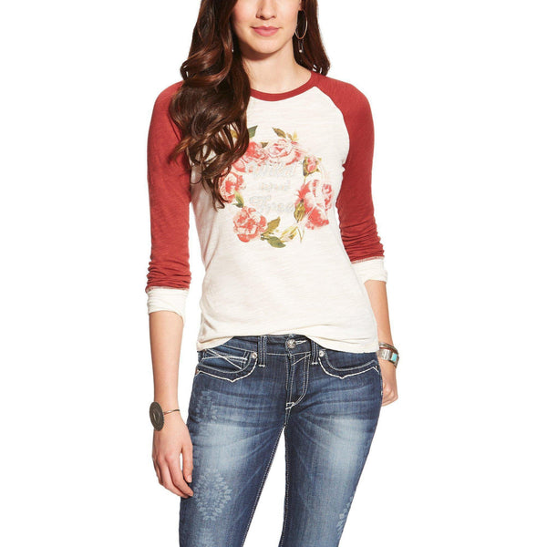 Ariat Women's Blaire Graphic Tee - West 20 Saddle Co.