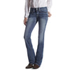 Ariat Real Mid Rise Jeans- Carmen Oceanside - West 20 Saddle Co.