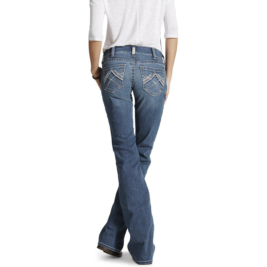 Women's Real Riding Jeans Whipstitch- Rainstorm