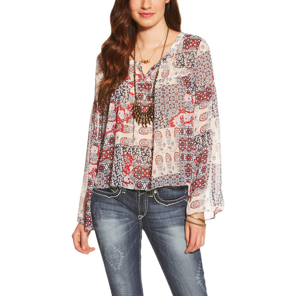 Ariat Women's Tracey Blouse - West 20 Saddle Co.