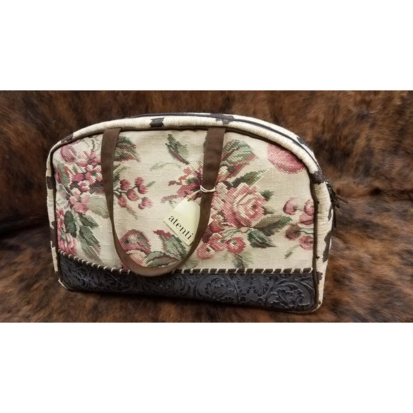 Atenti Floral Overnight Bag
