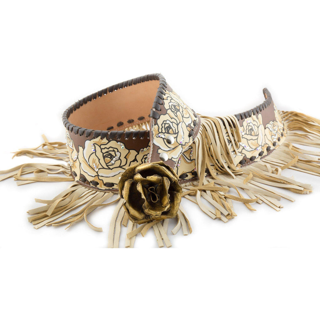 Women's CA Callie with Fringe Fashion Belt - West 20 Saddle Co.