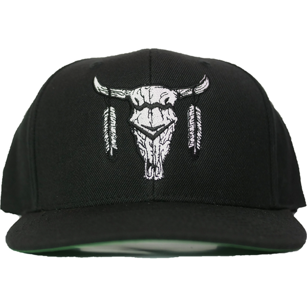 Dale Brisby Big Skull Black Snapback - West 20 Saddle Co.