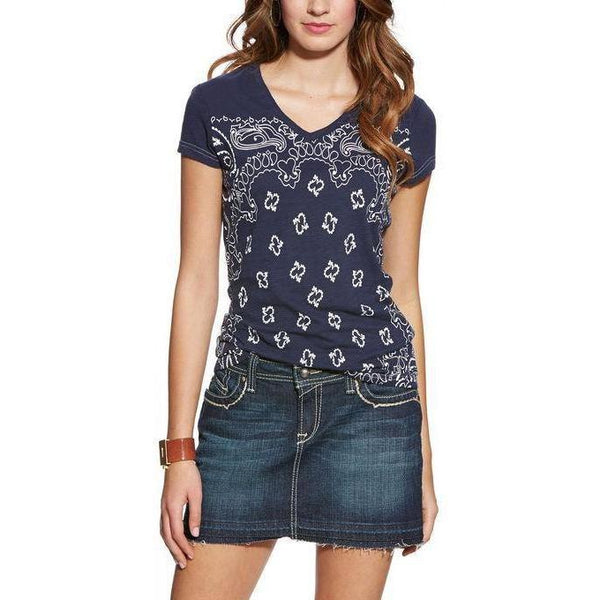 Ariat Bandana Print Top - West 20 Saddle Co.