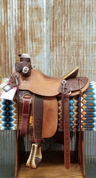 RW Bowman Will James Rancher Saddle