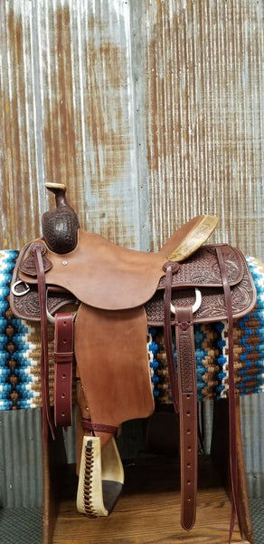 RW Bowman Will James Roper Saddle