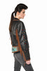 Double D Ranchwear Buffalo Chase Biker Jacket