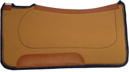 Diamond Wool Contoured Ranch Pad - 30x30