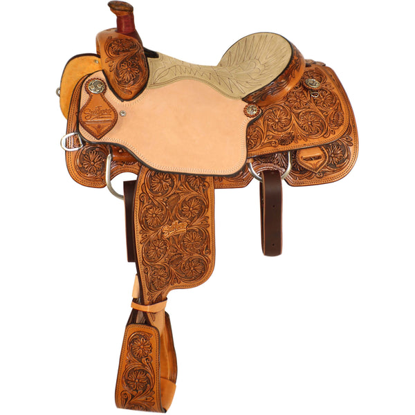 Scott Thomas Calf Roper Saddle