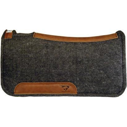 Diamond Wool Contoured Cowboy Pad - West 20 Saddle Co.