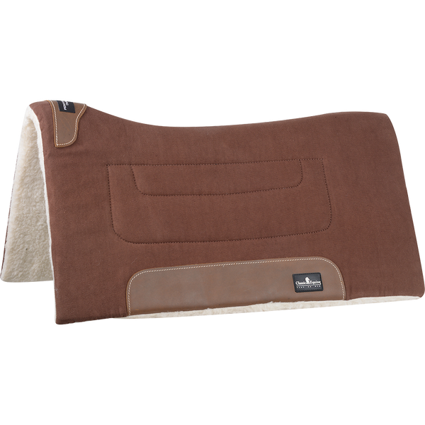 "Classic Equine Brown Performance Trainer Pad- 31""X32"""