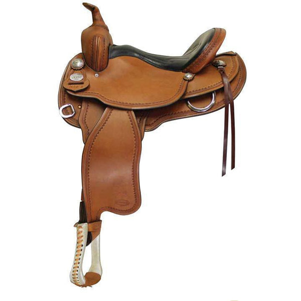 Crates 2120 Classic Light Trail Saddle - West 20 Saddle Co.