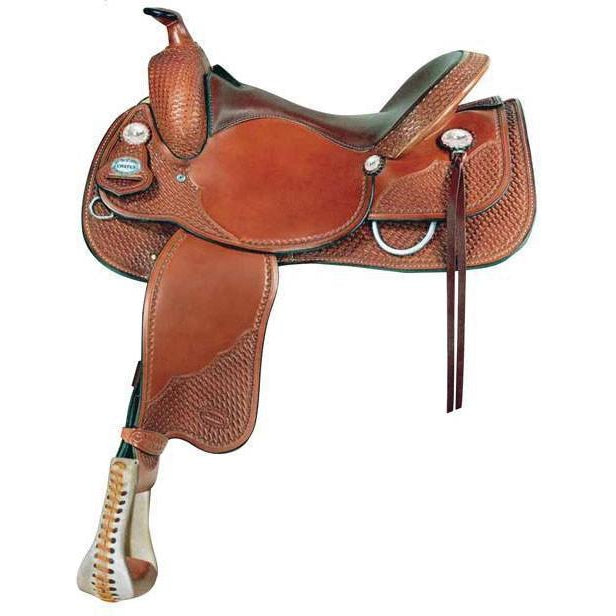 Crates 2221 Classic Reining Saddle Square Skirt - West 20 Saddle Co.