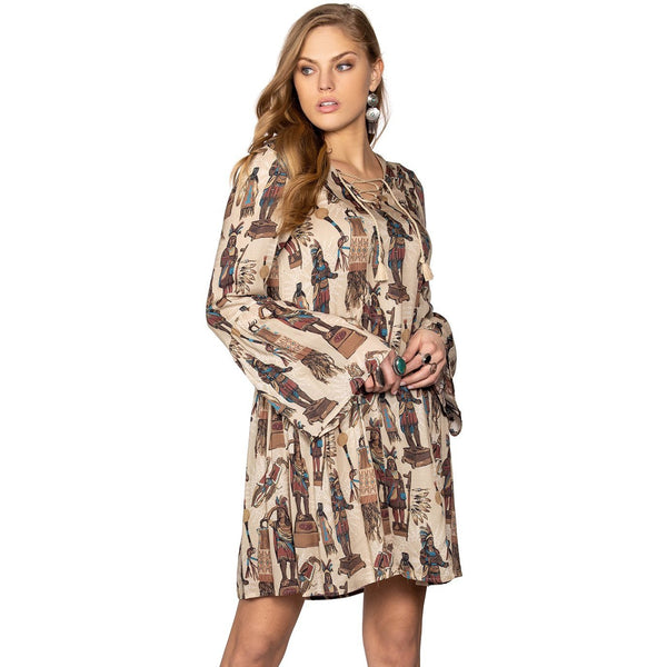 Double D Ranchwear Tobacco Salesman Dress